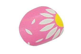 New Design LITTLE CHIX Nail Wraps Pink Yellow Daisy CHILDRENS Teens Finger Toe Foils