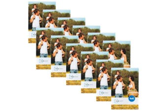 Mainstays 10cm x 15cm Clear Magnetic Frame, Set of 12