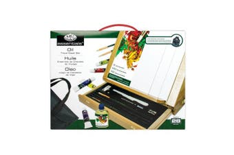 Royal & Langnickel Oil Colour Easel Art Set with Easy to Store Bag