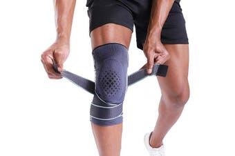 (Medium(39cm  - 43cm ), Advanced Protection) - BERTER Knee Brace for Men Women - Compression Sleeve Non-Slip for Running, Hiking, Soccer, Basketball for Meniscus Tear Arthritis ACL