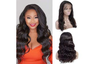 Brazilian Body Wave 46cm Lace Front Wigs 13×4 Human Hair Wigs 150% Density Lace Wigs Pre Plucked for Black Women Natural Hairline