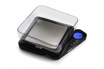 American Weigh Scales Black Blade Digital Pocket Scale, Bl-1kg-blk 1000 By 0.1 G