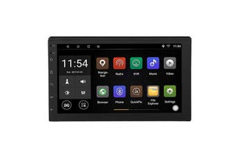 Lazmin Multimedia Car MP5 Player Bluetooth Stereo 18cm Screen Video Press MP5 Player with Navigation of Generalists + Reverse Camera