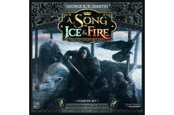 Asmodee Italia- Song of Ice And Fire Night Guardians Starter Set with Gorgeous Miniature, Colour, 10409
