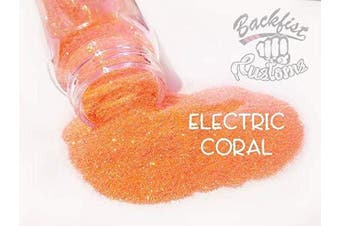 (Electric Coral) - Backfist Customs Glitter LLC (Electric Coral)