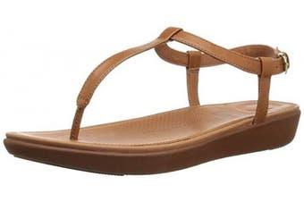 (3 UK, Brown (Caramel 098)) - Fitflop Women's Tia Thong Open Toe Sandals