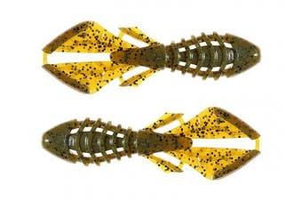 (Green Pumpkin) - Catch Co. BioSpawn VileBug 10cm Creature Bait Fishing Lure