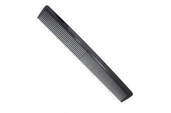 "(Color-4) - AFT90 Carbon Fibre Cutting Comb, Professional 8.15"" Styling Comb, Anti Static Heat Resistant Hairdressing Comb For All Hair Types, Fine and Wide Tooth Hair Barber Comb"