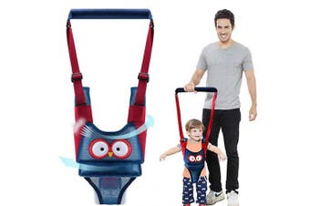 (Breathable Type) - Autbye Baby Walker Toddler Walking Assistant Handheld Stand Up and Walking Learning Leash Kids Safety Walking Harness Safety Belt for Baby 6-36 Months (Breathable Type)