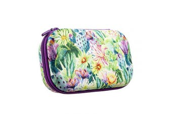 (Pencil Box, Flowers) - ZIPIT Fresh Colorz Pencil Box/Pencil Case/Storage Box, Flowers