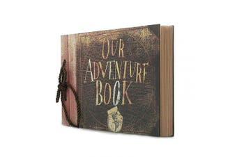 (Travel Memory Book) - Potok Photo Album Scrapbook, Photo Album Scrapbook Great for Craft Paper DIY Anniversary, Wedding Guest Book, DIY Anniversary Travel Memory Book