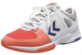 (7 UK, Multicolour (Living Coral 3654)) - hummel Women's Aerocharge Hb200 Speed 3.0 Ws Handball Shoes