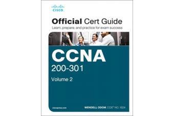 CCNA 200-301 Official Cert Guide, Volume 2, 1/e