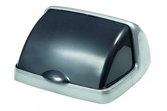 (Metallic-grey, 50L Roll Top) - 50L Roll Top Bin Lid - Metallic-Grey