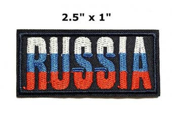 Iron on Patches#29, Russia Patches, Embroidered Patches, Appliques and Decorative Patches, DIY Badge Patches Clothing Backpacks Jeans T-Shirt Caps Cute Patch by BossBee