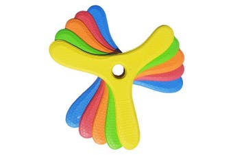 5 Kiwi Miniboom Foam Boomerangs - Safe Kids Boomerang for Sale for Light to NO Wind Throwing!