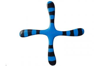Left Handed Blue Bumblebee - Easy Returning Boomerang. Great for Kids and Adults.