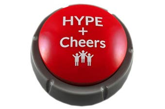 Air Horn Can Sound Effect with Applause and Cheers Noise Button Buzzer for Office Soccer Party Gag Gift DJ HYPE