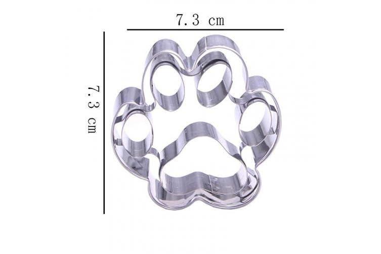 Dog Cookie Cutter Set - 3 Piece - Stainless Steel