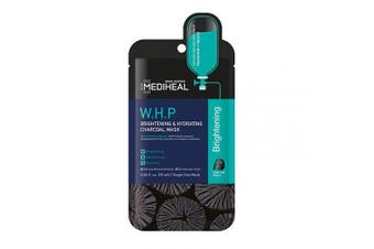 MEDIHEAL [US Exclusive Edition] - W.H.P Brightening & Hydrating Charcoal Mask (5 Masks)