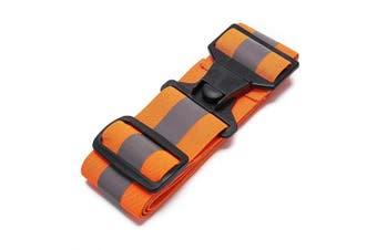 (orange, S-XL) - AYKRM 5 colours optional High Visibility Waist Belt,Reflective Running Gear,Running belt