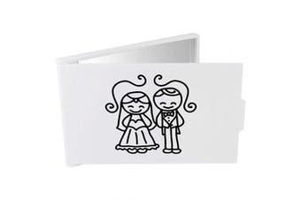 Azeeda 'Bride & Groom' Compact / Travel / Pocket Makeup Mirror (CM00016546)