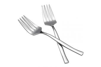 Idomy 8-Piece Stainless Steel Serving Fork Set