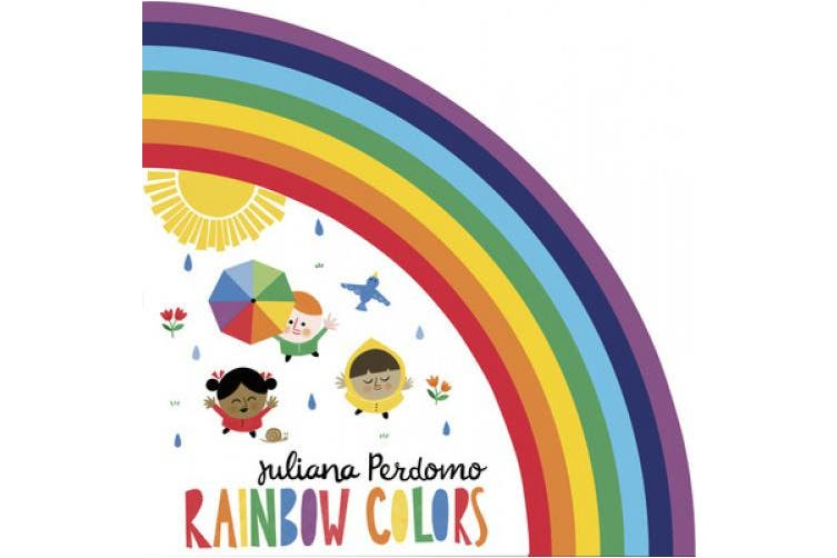 Rainbow Colors [Board book]