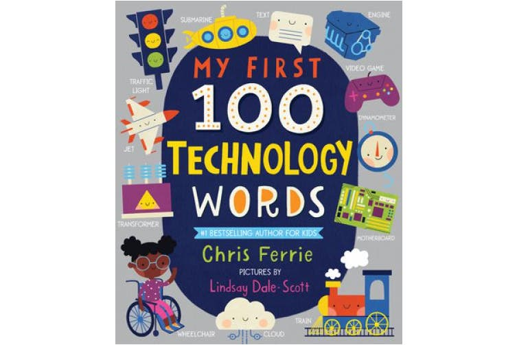 My First 100 Technology Words (My First Steam Words) [Board book]