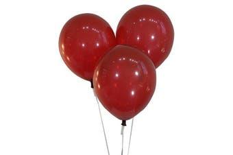 (100 ct, Decorator Burgundy Wine) - Creative Balloons 30cm Latex Balloons - Pack of 100 Pieces - Decorator Burgundy Wine