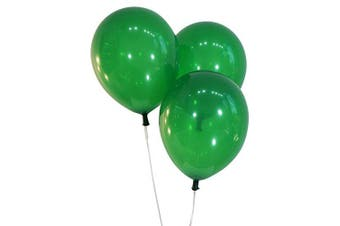 (100 ct, Decorator Emerald Green) - Creative Balloons 30cm Latex Balloons - Pack of 100 Pieces - Decorator Emerald Green