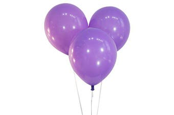 (100 ct, Decorator Lavender) - Creative Balloons 30cm Latex Balloons - Pack of 100 Pieces - Decorator Lavender Purple