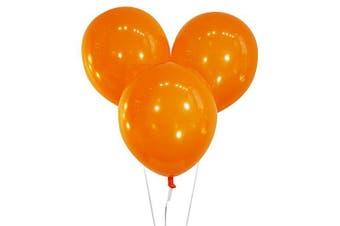 (100 ct, Decorator Sunburst Orange) - Creative Balloons 30cm Latex Balloons - Pack of 100 Pieces - Decorator Sunburst Orange
