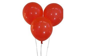 (100 ct, Decorator Brite Red) - Creative Balloons 30cm Latex Balloons - Pack of 100 Pieces - Decorator Brite Red