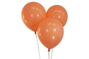 (100 ct, Decorator Peach) - Creative Balloons 30cm Latex Balloons - Pack of 100 Pieces - Decorator Peach
