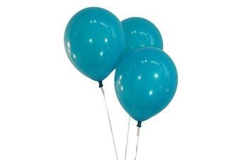 (100 ct, Decorator Teal) - Creative Balloons 30cm Latex Balloons - Pack of 100 Pieces - Decorator Teal