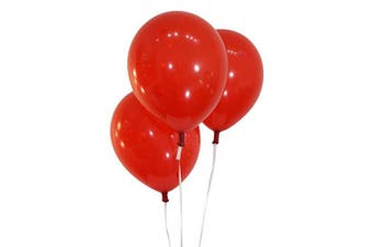 (100 ct, Decorator Cherry Red) - Creative Balloons 30cm Latex Balloons - Pack of 100 Pieces - Decorator Cherry Red