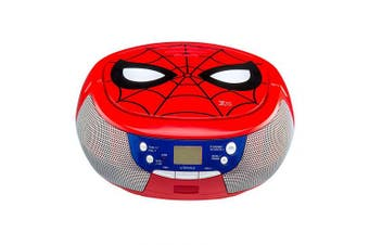 Spiderman CD Boombox with LCD Display