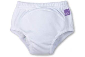 (18-24 Months, White) - Bambino Mio, Potty Training Pants, White, 18-24 Months