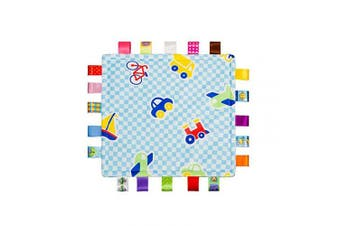 YeahiBaby Tag Comfort Blanket Baby Security Blankets Doudou Compagnie Toy (Plane)