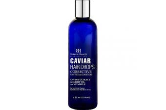 Botanic Hearth Caviar Corrective Hair Drops, Leave-in Deep Conditioner Hair Oil Nourishes and Restores Shine, Controls Frizz, for All Hair Types, 120ml