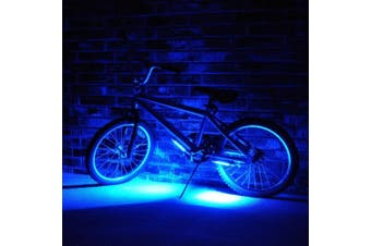 (Blue) - Brightz LED Bicycle Safety Light Cycling Bike Accessory Blue