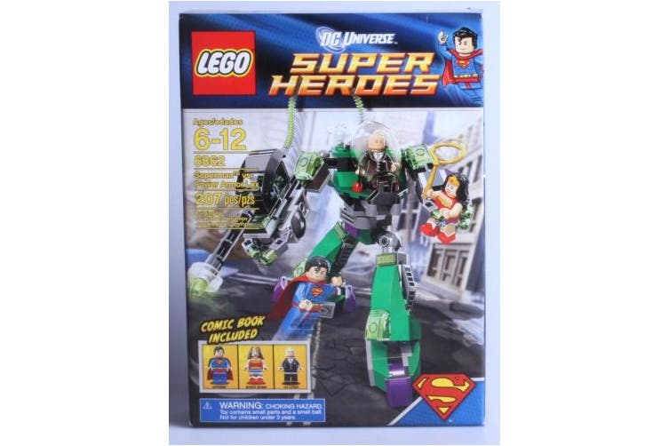 LEGO Super Heroes Superman vs. Power Armor Lex (6862)