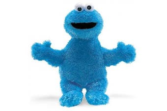 (Cookie Monster) - Official Sesame Street Cookie Monster Super Soft Plush Toy - Retro Gifts