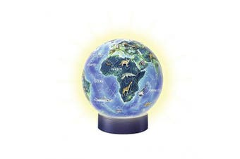 Ravensburger 3D Puzzle 11844 Earth In The Night – Night Light