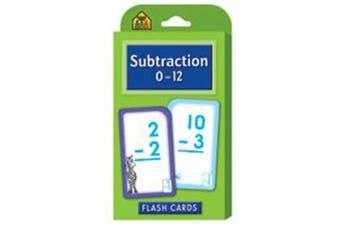 (Subtraction 0-12 53/Pkg) - Flash Cards