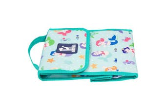(Mermaids) - Lunch Bag, Olive Kids by Wildkin Lunch Bag, Insulated, Moisture Resistant, Easy to Clean and Folds Flat Making Storage That Much Easier, Ages 3+, Perfect for Kids or On-The-Go Parents – Mermaids
