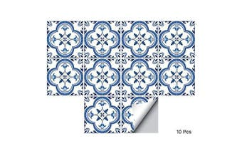 (Ts059, 15x15cm) - alwayspon Floor Wall Tile Transfers Sticker for Home Decor, Peel & stick self-adhesive splashback, Tile Decals for Living Room Kitchen Bathroom Decor, 10 Pieces (TS059, 15x15cm)