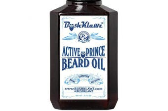 Active Prince Beard Oil Conditioner Premium Beard Moisturiser Refreshing Scent 60ml - Best Leave in Conditioner Scented Beard Oil Gift Bearded Me