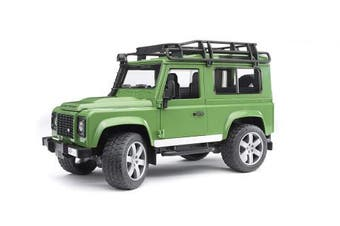(02590 - Wagon only) - Bruder Toys Land Rover Defender Station Waggon
